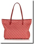 Lancaster Paris Ikon Red Printed Tote