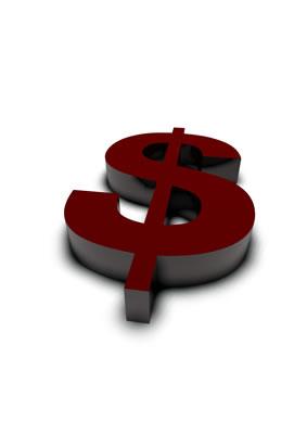lettre 3D rouge de Chine - $ - images libres de droit