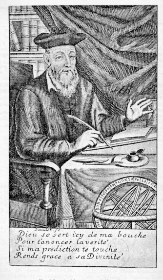 Nostradamus Portrait Ca1690, Nostradamus