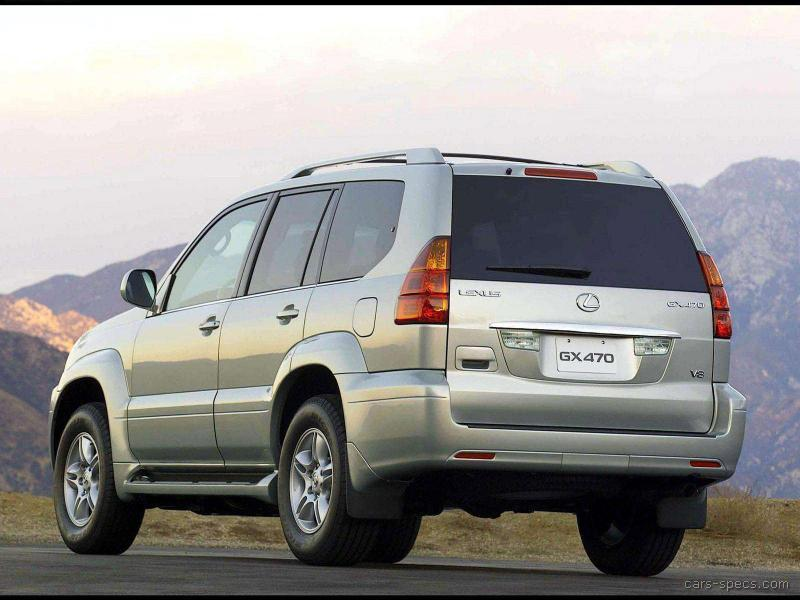 2006 lexus gx 470 suv specifications pictures prices. Black Bedroom Furniture Sets. Home Design Ideas