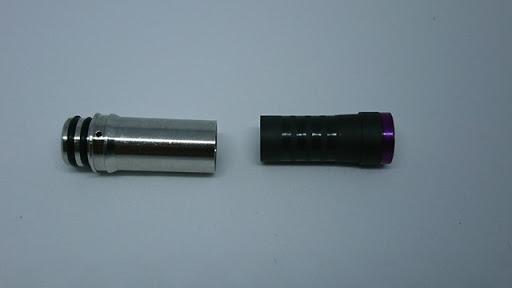 DSC 3799 thumb%255B2%255D - 【DT】「とっちゃんDT」Chad Works × Scull Bomb Vapersコラボ、「VC02 Tips」 VAPORCLOUDコラボモデルレビュー。おまけでプルームテックのニコチンドリップチップ二種PLUS「plus v2」プラス「For KN.Ry drip tip」比較【ドリップチップ/小物/チャドワークス/Ploomtech】