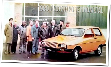 Prototipo Dacia Junior Tehnometal 1980 - autodimerda.it