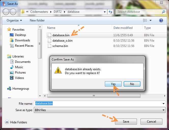 Modify ค่าเงินใน DiRT 2 ให้เป็นค่าเงินไทย D2cost06