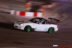 Keith Borg in his white Nissan Silvia