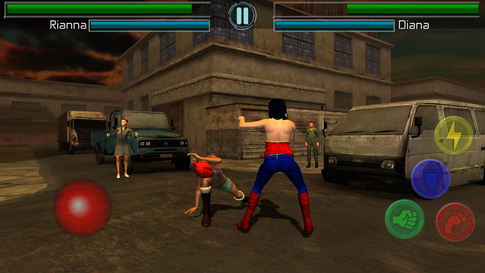 Fighting Underground- screenshot