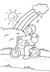 Barahona:- Camión mata a un  Niño de 9 años que montaba bicicleta