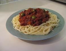 Les spaghettis à la sauce bolognaise