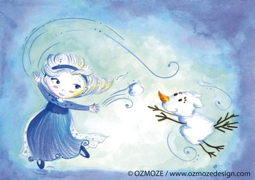 Princess Disney and their Dog (Frozen Elsa, Reine des neiges, Série)