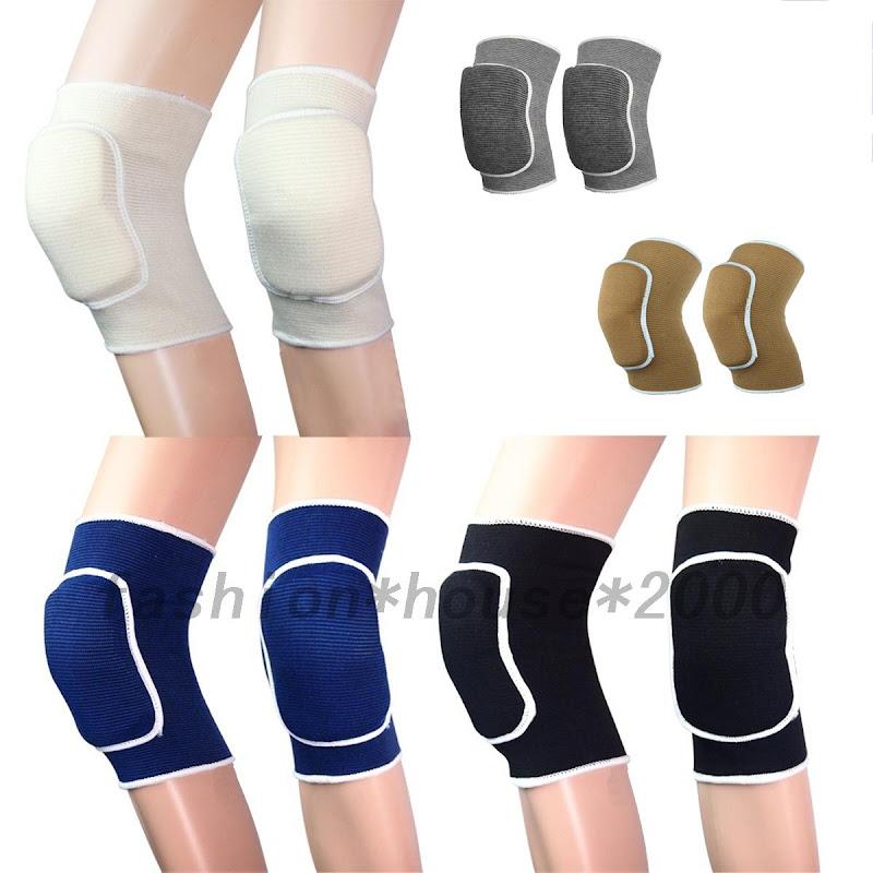 f r kinder 1 paar handball kniesch tzer knieschoner kniebandage knieschutz ebay. Black Bedroom Furniture Sets. Home Design Ideas