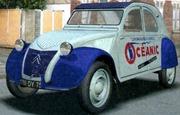 Citroën 1955 2 CV AZ Océanic
