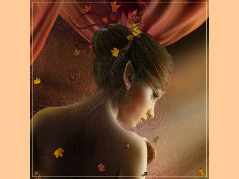 Elven Lady Of Autumn, Magic Beauties 3