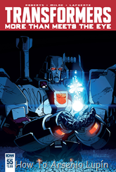 Actualización 19/08/2016: Transformers - More than Meets the Eye #55, traduce DarkScreamer, revisa Serika y maqueta Byjana.