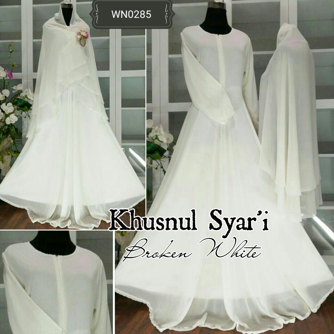 aprianti collection khusnul syari baju hijabers exclusive