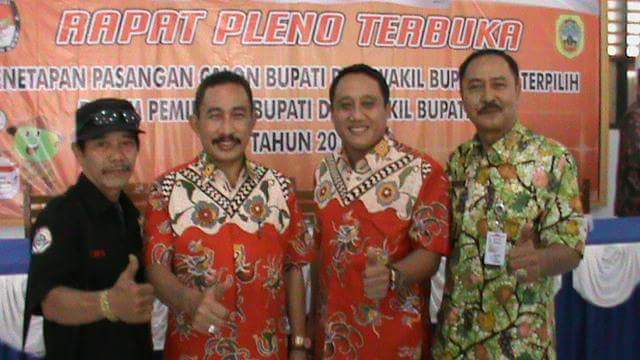 Penetapan Pasangan Haryanto-Arifin Sebagai Bupati Pati
