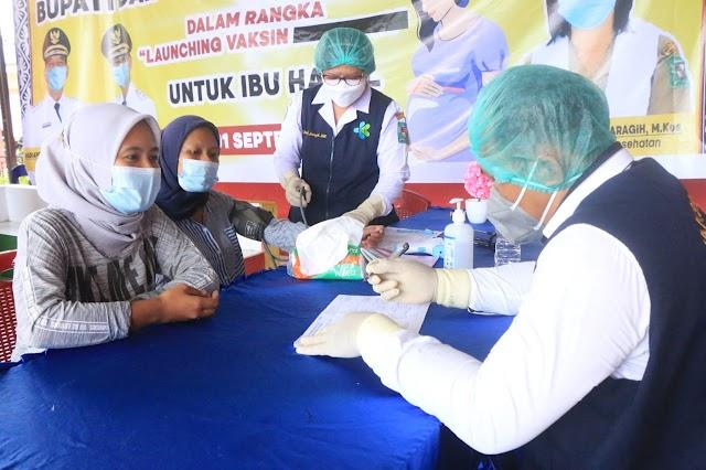 2662 Ibu hamil di Simalungun menerima vaksinasi