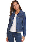 Women's Classic Denim Trucker Jacket