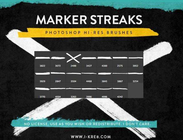 marker-streaks