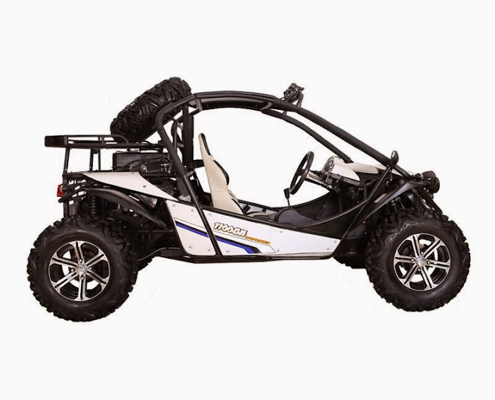 1100cc XY 4x4 Offroad Dune Buggy White Side