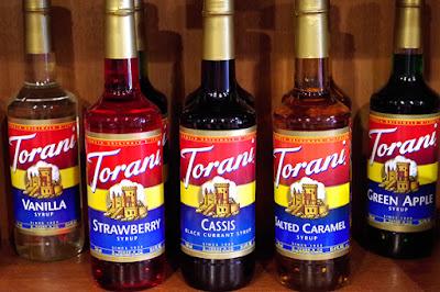 おすすめ商品:トラーニ フレーバーシロップ