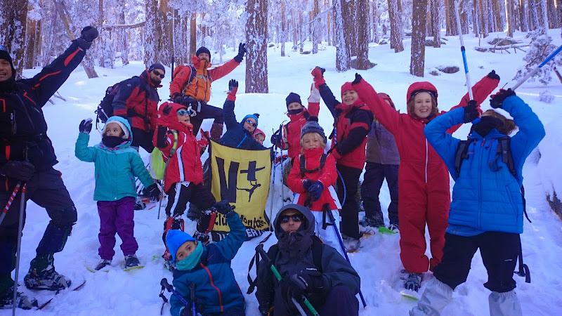ESCUELA BABY - Raquetas de nieve - 25 Enero 2015