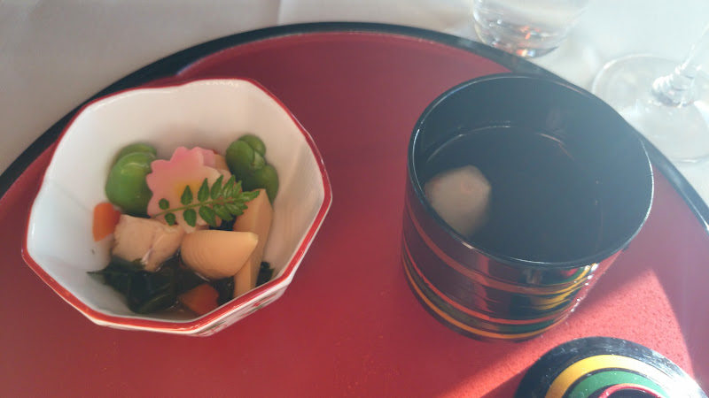 DSC 2941 - REVIEW - Cathay Pacific : First Class - Hong Kong to Tokyo (B747)