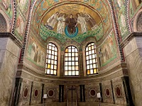 The Basilica of San Vitale in Ravenna - Including Some Rare Views of the Previous Baroque High Altar