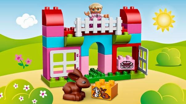 Thỏa sức sáng tạo cùng Lego Duplo 10571 All in One Pink Box of Fun