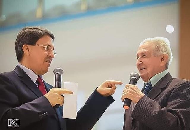 Pastor Ezequias Martins Ferreira comemora 95 anos de idade