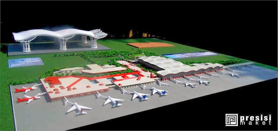 jasa pembuatan maket bandara