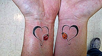 30 Impressive Mother Daughter Tattoos  CreativeFan
