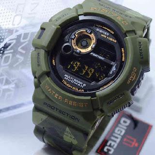 Jam Tangan Digitec Mudman doreng DG2085T green army