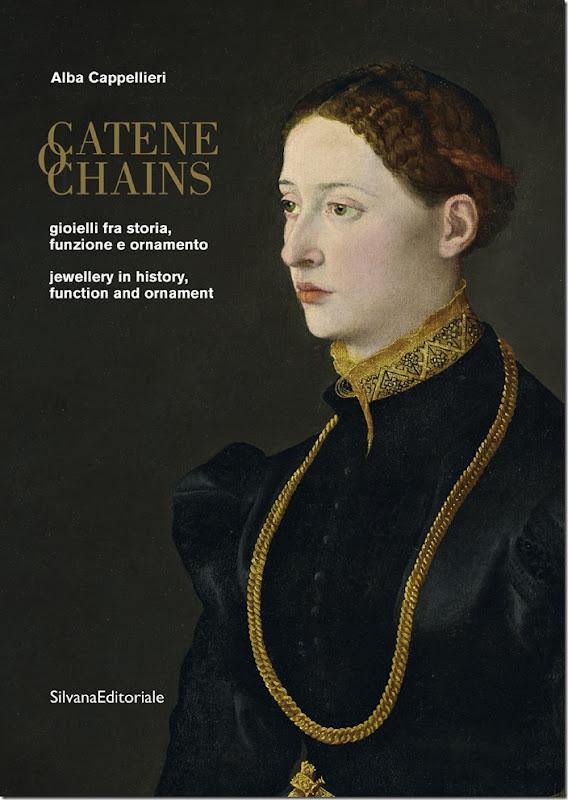 Copertina Libro CATENE di Alba Cappellieri
