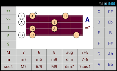 Chord Patterns on the Mandolin - DG Android Applications