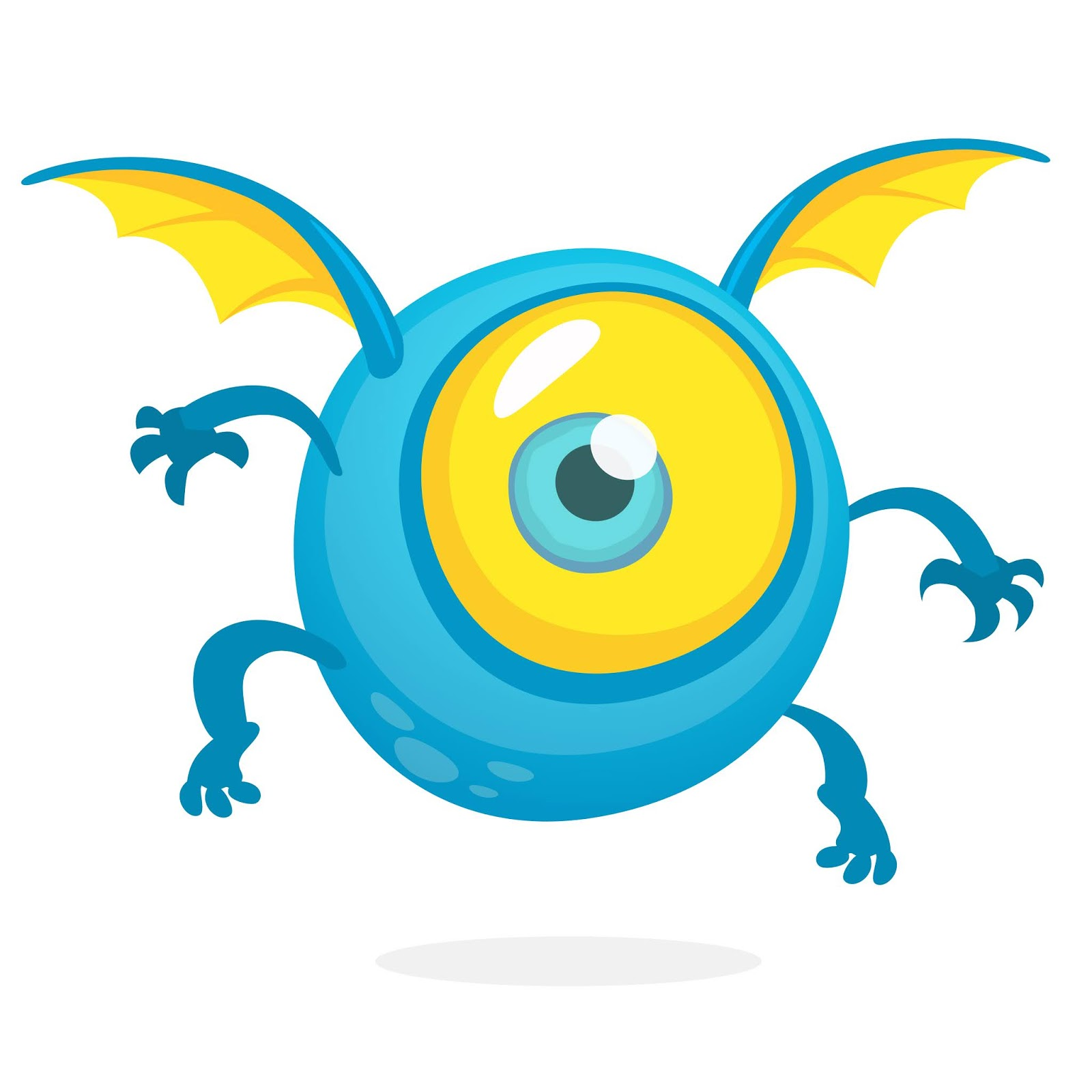 Monster Funny Free Download Vector CDR, AI, EPS and PNG Formats