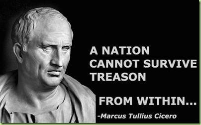 cicero treason