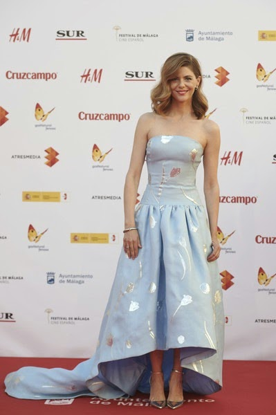 Manuela Velasco attends the 18th Malaga Film Festival
