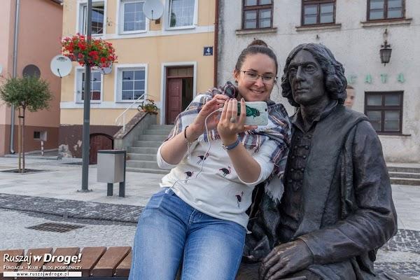 Selfie z Kopernikiem we Fromborku