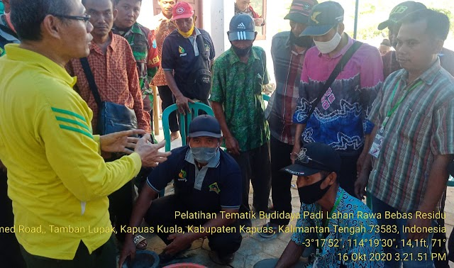 Ajak Petani Kapuas Kuala Bijak Gunakan Pestisida Nabati, BBPP Binuang Gelar Pelatihan 3 Hari