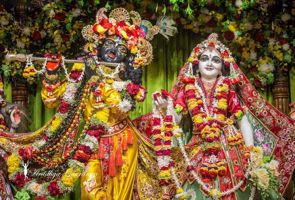 ISKCON Mayapur Deity Darshan 13 Jan 2017 (1)