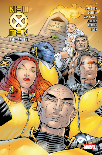 New X-Men tom 2 okładka