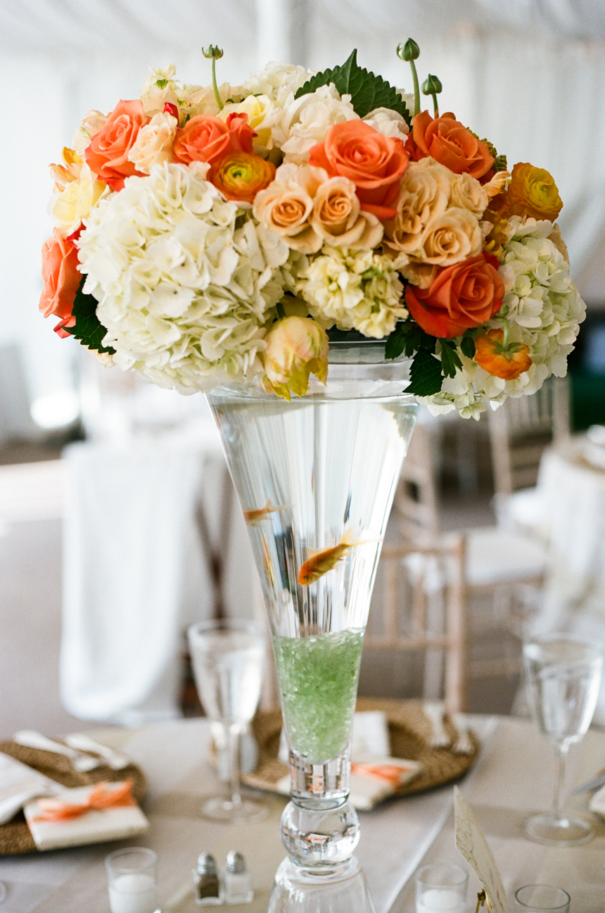Centerpieces With Fish And Flowers October 2018 Wholesale