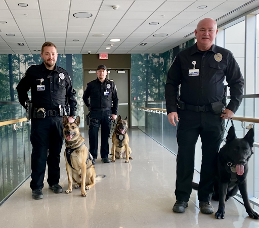 Providence Health Care welcomes new K9, handler to security team