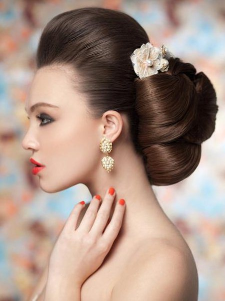 Wedding Hairstyle Summer 2018 Bridal Collections 1