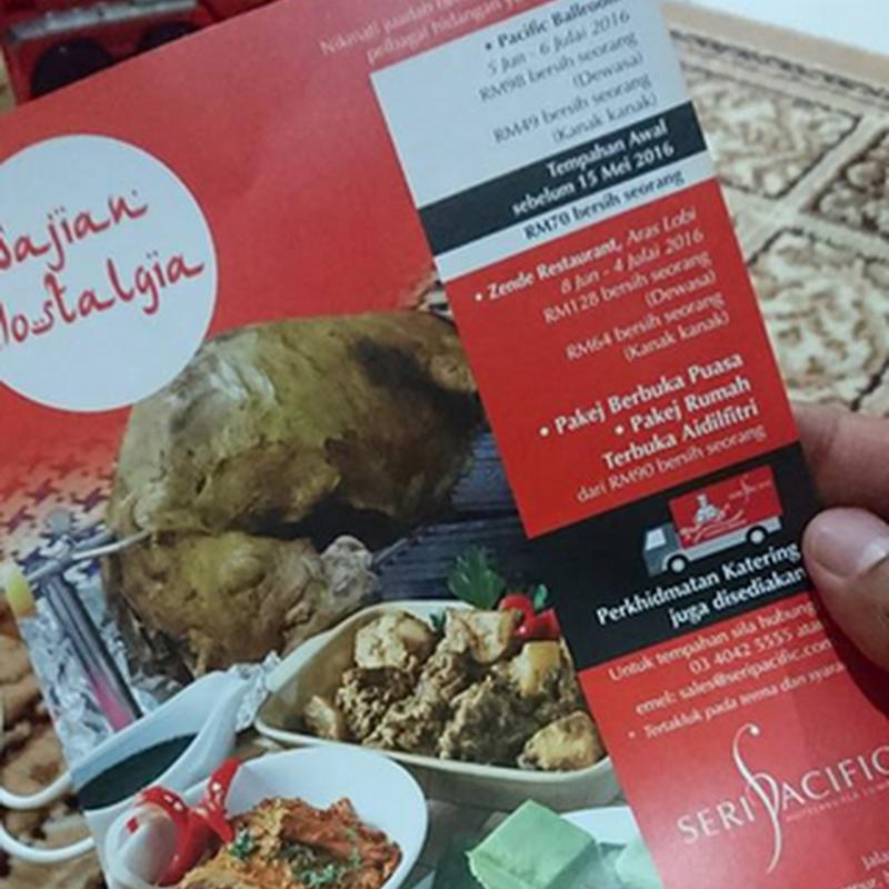 """Buffet Ramadan """" Sajian Nostalgia """" di Seri Pacific Hotel Kuala Lumpur"""