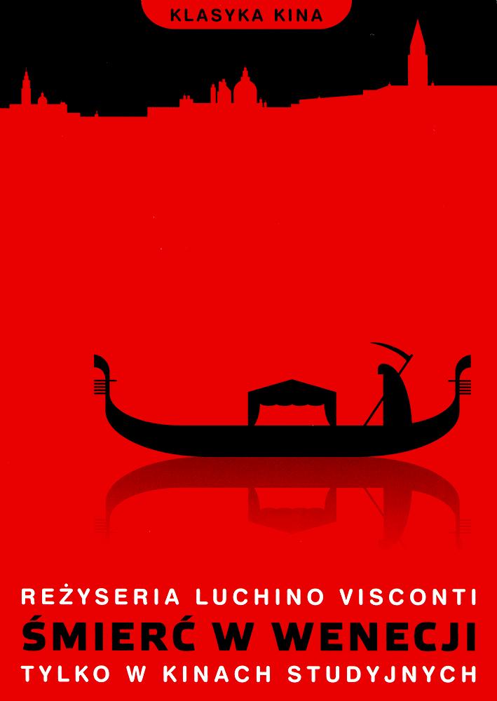 Ulotka filmu 'Śmierć W Wenecji (przód)'