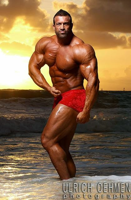 Anthony Tenuta - Big Hunk Competitive Male Bodybuilder