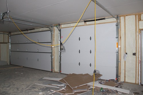 Garage sheetrock 2