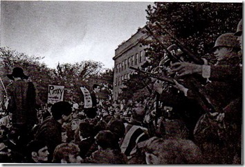 demonstrasi Amerika Serikat memprotes AS terlibat dalam perang Vietnam