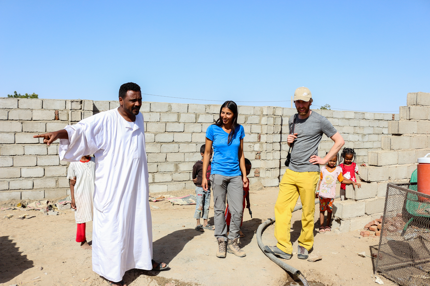 Sudanese hospitality guests