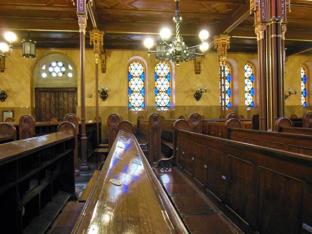 Segunda mayor sinagoga del mundo